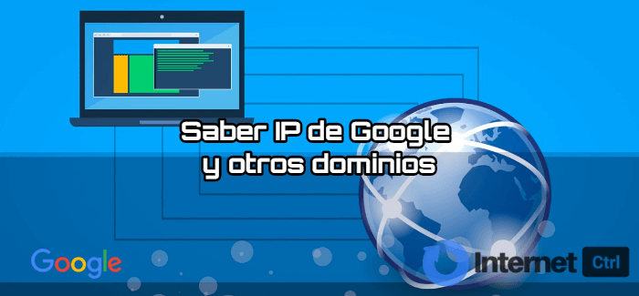 tutorial para saber la ip de google y otros dominios