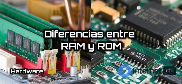 las diferencias entre ram y rom explicadas detalladamente