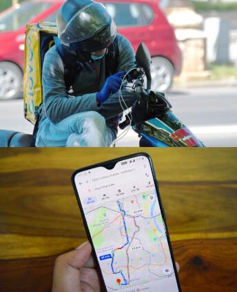 gracias a Internet disponemos de GPS y google maps