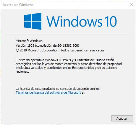 saber que version de windows tengo