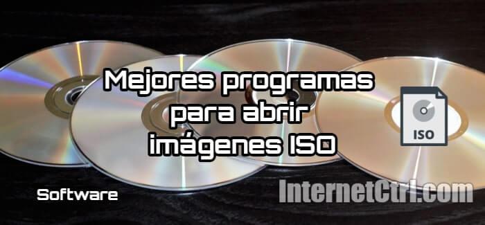 guia de programas para montar y abrir archivos ISO en Windows