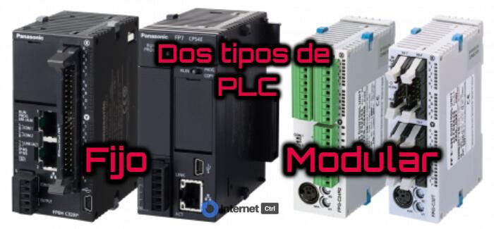 existen dos tipos de plc: fijo y modular